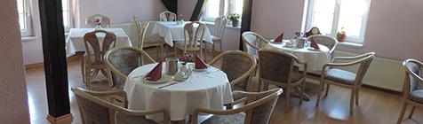 Hotel Carl von Clausewitz in Burg - Früstück
